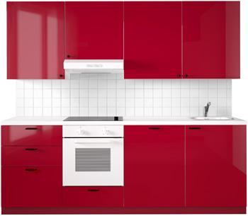 cuisine Ikéa ringhult rouge