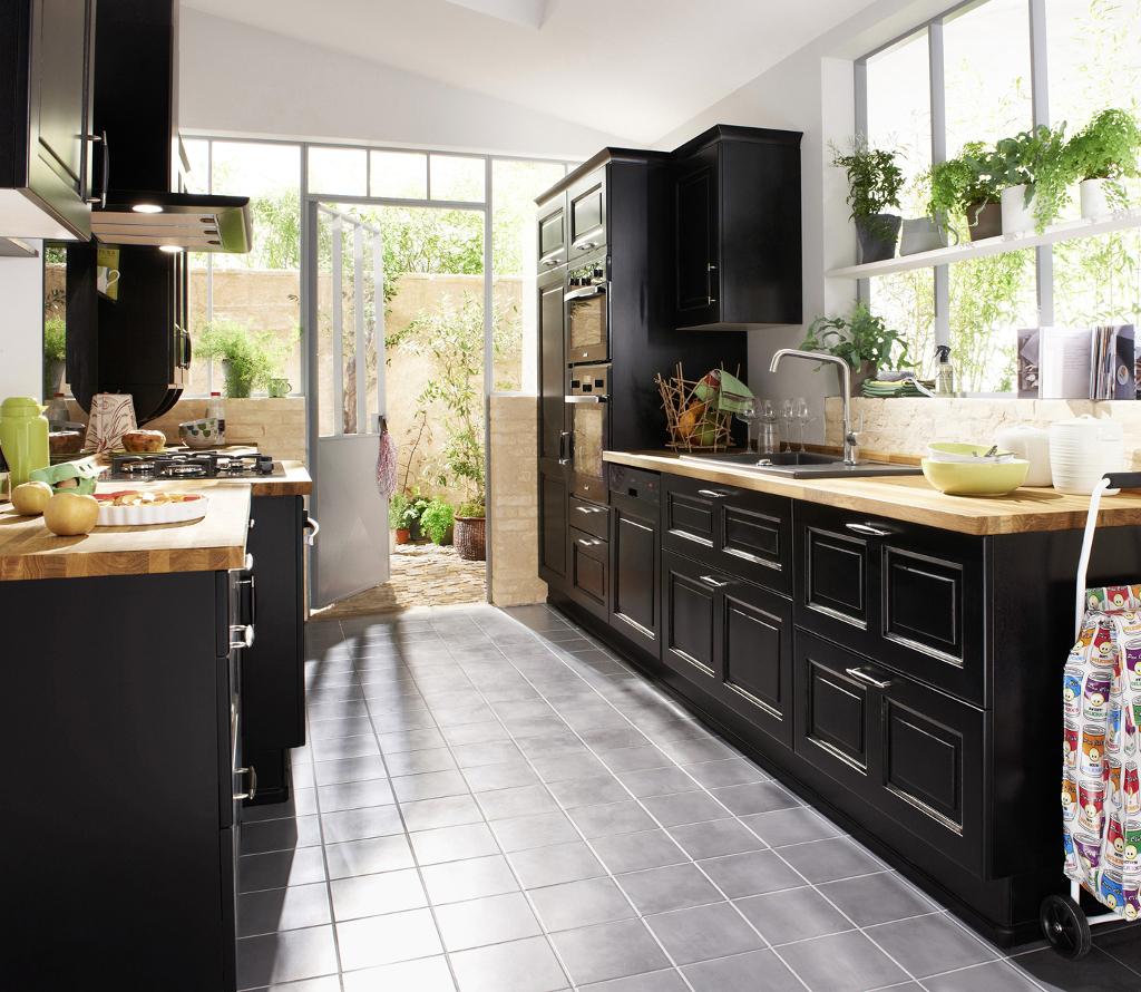 Nettoyer Meuble Cuisine Mat la cuisine noire - le blog des cuisines