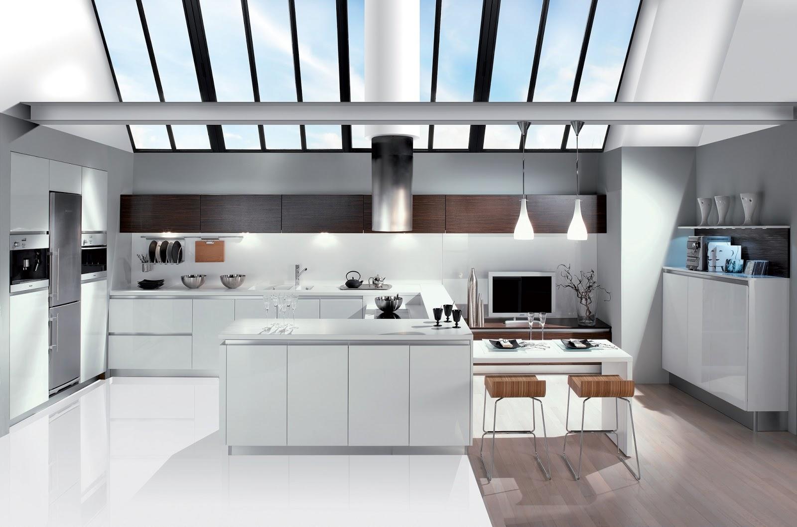 cuisine blanche loft