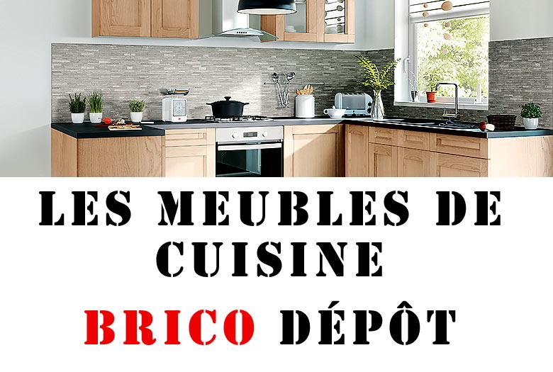Cuisine Equipee Brico Depot La Seule Difference C Est Le Prix